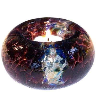 Mystic Candle Glass Pet Urn