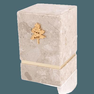 La Nostra Perlato Marble Cremation Urns