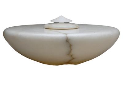 Napoli Alabaster Cremation Urn