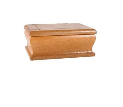 Natural Chestnut Book Cremation Urn