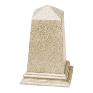 Natural Obelisk Pet Urn