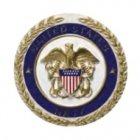 Navy Cast Medallion Appliques