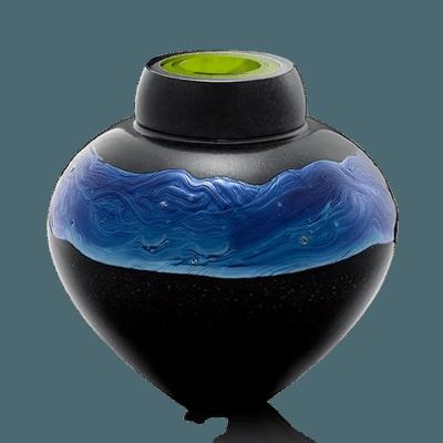 Neptune Glass Cremation Urn