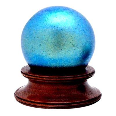 Neptune Glass Pet Urn