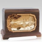 New Lake Walnut Hampton Cremation Urn
