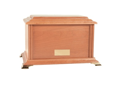 Nicolet Wood Cremation Urn
