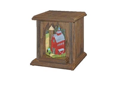 Noah Oak Cremation Urn
