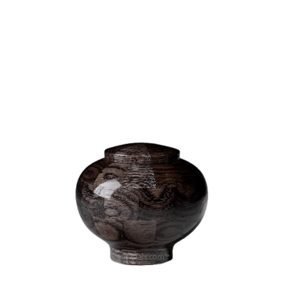 Noir Keepsake Wood Urn