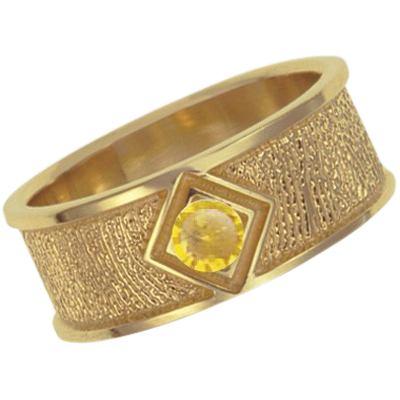 November Birthstone 14k Yellow Gold Ring Print Keepsake