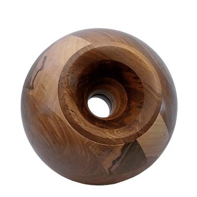 Nut Orb Wood Urns