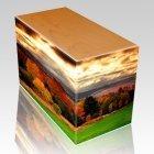 Autumn Oak Child Cremation Urn III