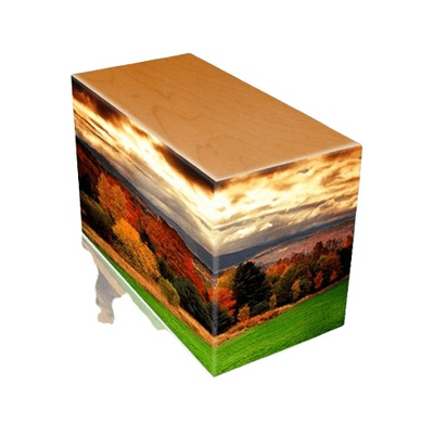 Autumn Oak Child Cremation Urn