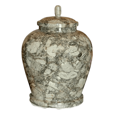 Ocean Abyss Marble Cremation Urn
