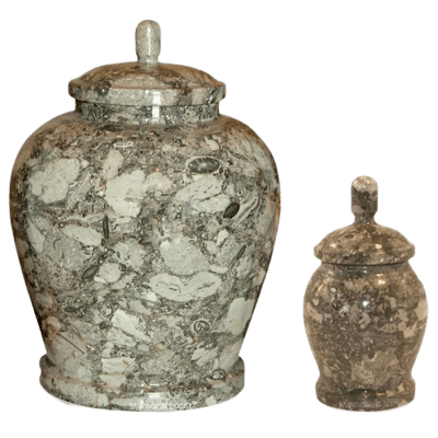 Ocean Abyss Marble Cremation Urns