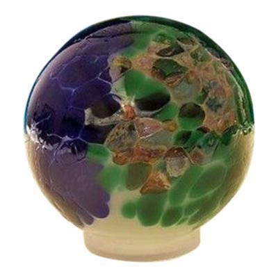 Ocean Orb Glass Pet Urn