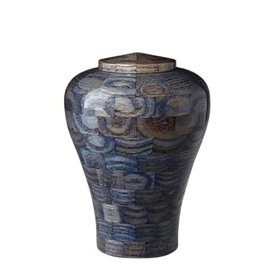 Oceanic Medium Wood Urn