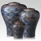 Oceanic Wood Cremation Urns