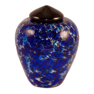 Oceanus Glass Pet Cremation Urn