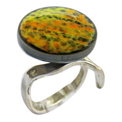 Olive Memorial Ashes Ring