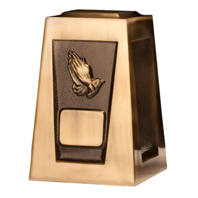Olympus Praying Hands Cremation Urn
