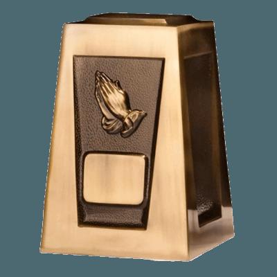 Olympus Praying Hands Cremation Urn