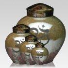 Om Raku Cremation Urns