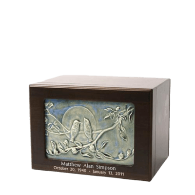 Only You Wood Cremation Urn