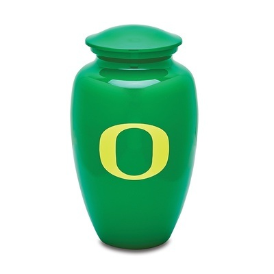 Oregon Ducks Football Cremation Urn