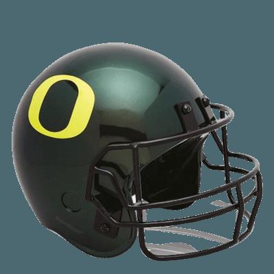 Oregon Ducks Football Helmet Urn