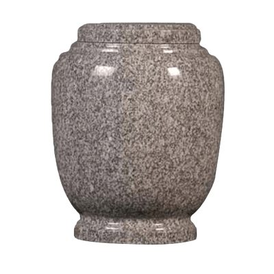 Oxford Gray Granite Cremation Urn