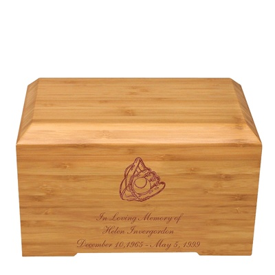 Glove Bamboo Essence Cremation Urn