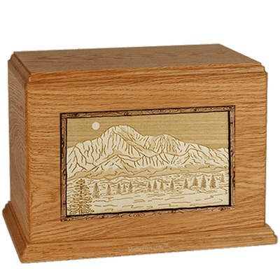 Pikes Peak Mahogany Companion Urn