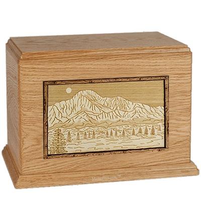 Pikes Peak Oak Companion Urn