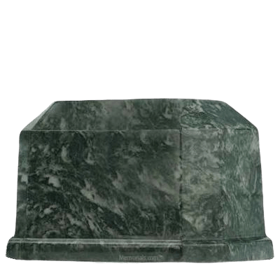 Palm Prism Marble Cremation Urn