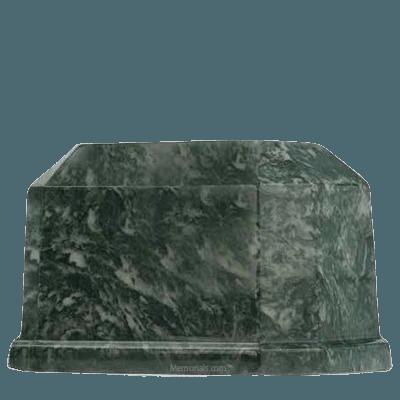 Palm Prism Marble Cremation Urn