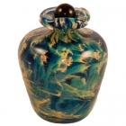 Paradise Glass Pet Keepsake Urn