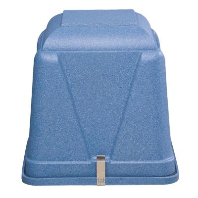 Vantage Blue Cremation Urn Vault