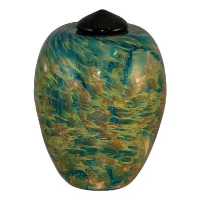 Pasture Glass Cremation Urn