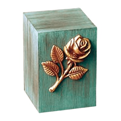 Patina Rose Childrens Cremation Urn