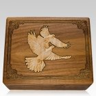 Peace Doves Cremation Urn