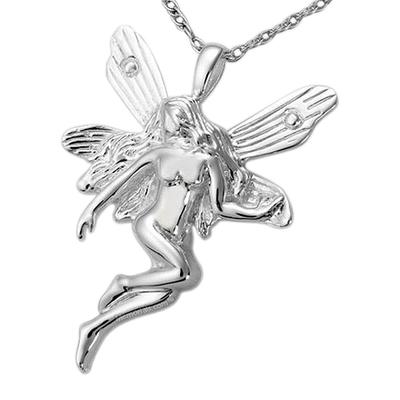 Peace Fairy Cremation Pendant