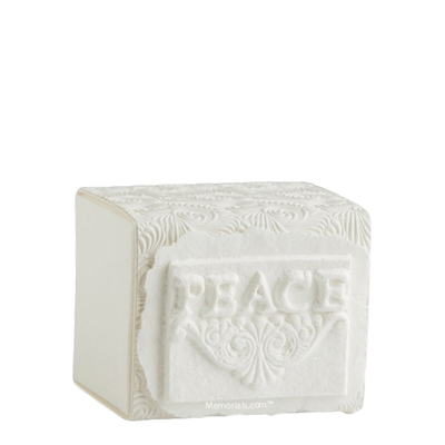 Peace Small Biodegradable Urn