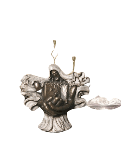 Peaceful Menorah Bronze Cremation Urn