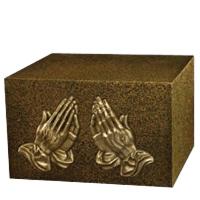 Peaceful Prayer Companion Cremation Urn