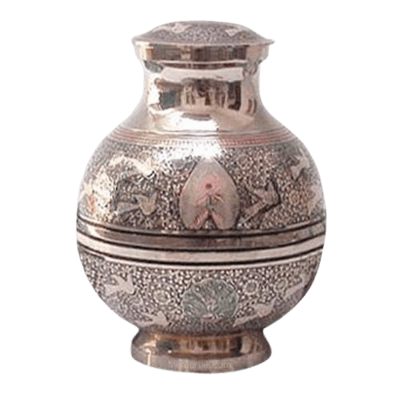 Peacocks & Doves Cremation Urn