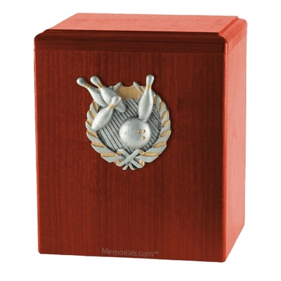 Perfect Strike Cherry Cremation Urn