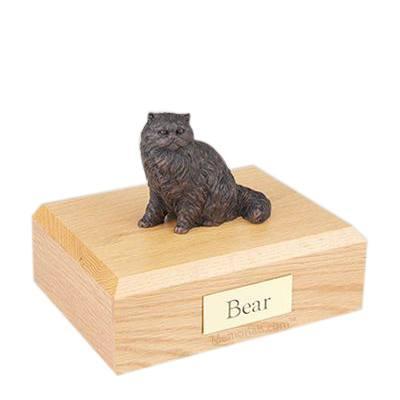 Persian Bronze Large Cat Cremation Urn