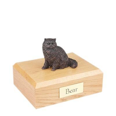 Persian Bronze Medium Cat Cremation Urn