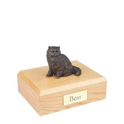 Persian Bronze Small Cat Cremation Urn