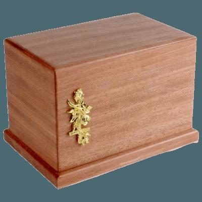 Peru Wood Cremation Urn